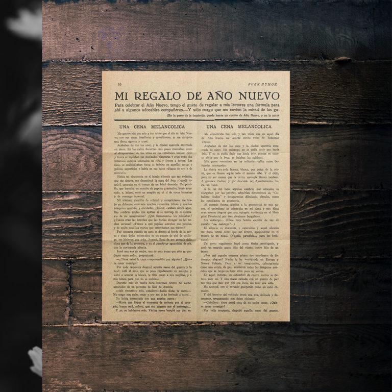 Texto original escaneado, en dos columnas.